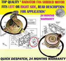 RADIATOR COOLING FAN SHROUD MOTOR LHOR RH FITS FAIRLADY 350Z 3.5 Z33 2002-2015