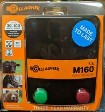 Gallagher Electric Fence Charger M160 16 Stored Joules New