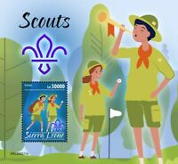 Sierra Leone Scouting Stamps 2020 MNH Girl Boy Scouts 1v S/S