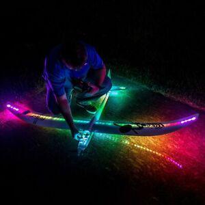 E-Flite Night Radian Electric EP Glider FT BNF Basic LEDS AS3X UK STOCK