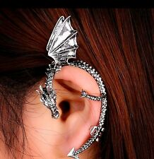 Punk Gothic Temptation Metal Wrap Fly Dragon Ear Cuff Clip Earrings 1pc New
