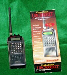 Uniden Bearcat UBC3000XLT 25-1300MHZ Handheld Scanner Receiver 400 Channel