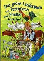 Das große Liederbuch von Pettersson und Findus Sven Nordqvist H0703