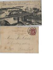 Tarjeta Postal. ALGECIRAS. (Cádiz). Puente sobre el Río de la Miel.
