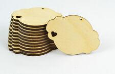 12 x In legno Regalo Etichette/Desiderio Albero/Prezzo Etichetta/Festa etichetta