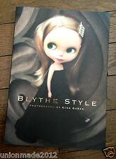 Blythe Style Collection Photo Book Doll Photos GINA GARAN Collaboration Design