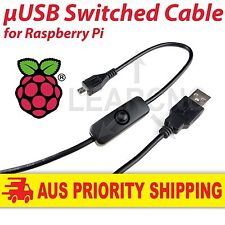 Raspberry Pi USB Power Cable with Switch for Raspberry Pi 3 / 2 / B / B+ / A