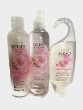 Avon Senses Body Care Blushing Charme Cherry Blossom Gift Set Shower Set
