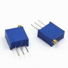 10pcs 500K Ohm 3296W-504 3296 W Trim Pot Trimmer Potentiometer