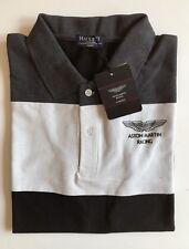 New Mens Hackett London Polo T-shirts Short Sleeve Black Size XXL RRR £115.00