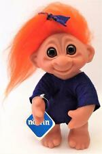 "Beautiful Mint Condition w/ Tags 8"" Vintage 1977 Norfin Olga Troll w/ Clothes"