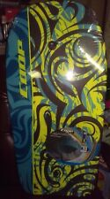 """Brand New Factory Sealed! Coop Pipe 37"""" Bodyboard - Chartreuse/Teal"""