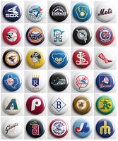"MLB VINTAGE / RETRO - Baseball pinback buttons - 1"" pins sports team pin badges"