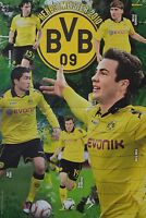 BORUSSIA DORTMUND - A3 Poster (42 x 28 cm) - BVB Herbstmeister 2010 Clippings