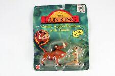 The Lion King PUMBAA & TIMON Figure Mattel Disney Sealed Box Damage