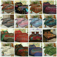 Mandala Bedspread Indian Hippie Queen Size Bed Cover Tapestry Boho Bedding Cover