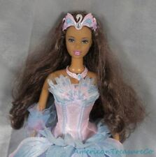 2003 Barbie In Swan Lake As Odette African American Doll w/Glittery Gown & Crown