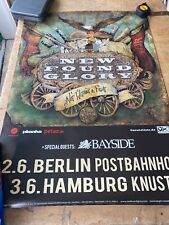 "New Found Glory ""not Without A Fight Germany"" Cocert Promo Poster 23x33 Inches"