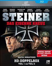 Steiner - Das eiserne Kreuz - Teil I + II - Doppelbox - Filmjuwelen BLU-RAY