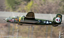 SkyFlight LX 78.7in B25 Electrc Bomb 12CH RC Model Plane RTF W/ Radio Battery