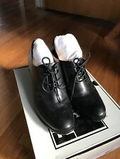 Frye Women's Booties Phoebe Oxford Black Leather Size 9 Pre-owned
