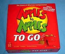 2007 Mattel Apples to Apples To Go Card Game To Go Complete MINT Condition!