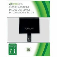 250GB HardDrive Xbox Slim Only For Xbox 360 Very Good 0Z