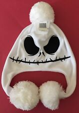 JACK SKELLINGTON ADULT BEANIE WITH LONG EARS NEW WITH TAGS