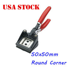 Usa 50 x 50mm Handheld Passport Id Photo Cutter Round Corner Photo Punch Cutter