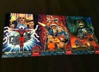 1994 Fleer Ultra X-Men  X-Overs 3 RARE Cards - Fatal Attractions - Song - Agenda