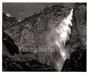 1949 OriginaL ANSEL ADAMS Yosemite Falls Waterfall Landscape Photo Engraving Art