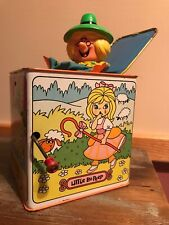 1970 Mother Goose Jack In The Box Working In Great Condition