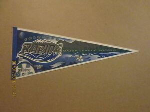 MLS Colorado Rapids Vintage 1996 Logo Soccer Pennant