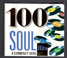 (IA417) 100 Soul Hits, various artists - Boxset CD