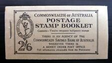 AUSTRALIA 1949 G.VI - 2/6 Booklet SB29 SUPERB NF150