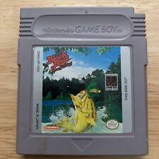Gameboy Cart ~ Black Bass: Lure Fishing (Nintendo Game Boy, 1994)
