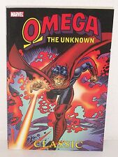 OMEGA The UNKNOWN: CLASSIC TPB - Gerber MOONEY Trimpe GRANT - Marvel GN Trade