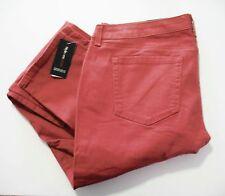 Style&Co. Womens Curvy Colored Skinny Leg Pants Terracotta Sz 12 - NWT