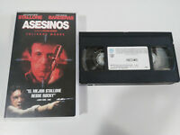 ASESINOS STALLONE ANTONIO BANDERAS RICHARD DONNER - VHS CINTA TAPE CASTELLANO