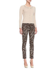 Kate Spade Broome Street size 30 skinny leopard jeans KEY PIECES stretch legging