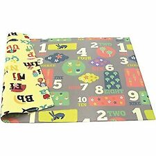 Baby Play Mat Gym Activity Floor Crawl Soft Child Infant Game Kid Letter Numbers
