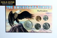 The Americana Series 4 Coin US Presidents Commemorative Set