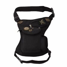 1pc Retro Steampunk Rock Gothic Waist Belt Bag Packs Leg Hip Holster Purse