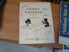 Francis Gwynn: Penny Whistle ,   piano solo (Flammer)