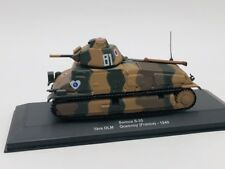 somua s-35 char de combat 1 ere dlm quesnoy france 1940 ixo 1/43