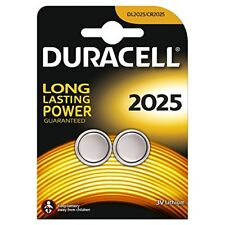 Duracell DL2025B2 Lithium Button Battery (pack of 2)