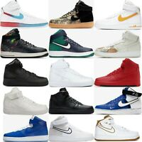 Nike Air Force 1 High or Mid Shoes Men's Lifestyle Comfy Sneakers