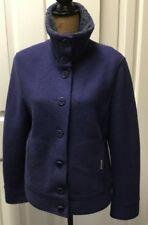 AUTHENTIC Geiger Boiled Wool Jacket Coat -40 BLUE
