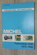 Michel Katalog Plattenfehler DDR 1970 - 1990