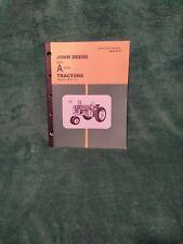 John Deere Model A Series Tractor Operators Manual (Ser. No. 648000 And Up)